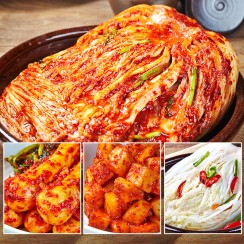안동학가산김치 고랭지 포기김치,총각김치, 깍두기 외 6종